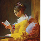 Young Girl Reading 140x140