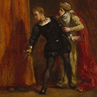 Hamlet & His Mother Delacroix 140 x 104